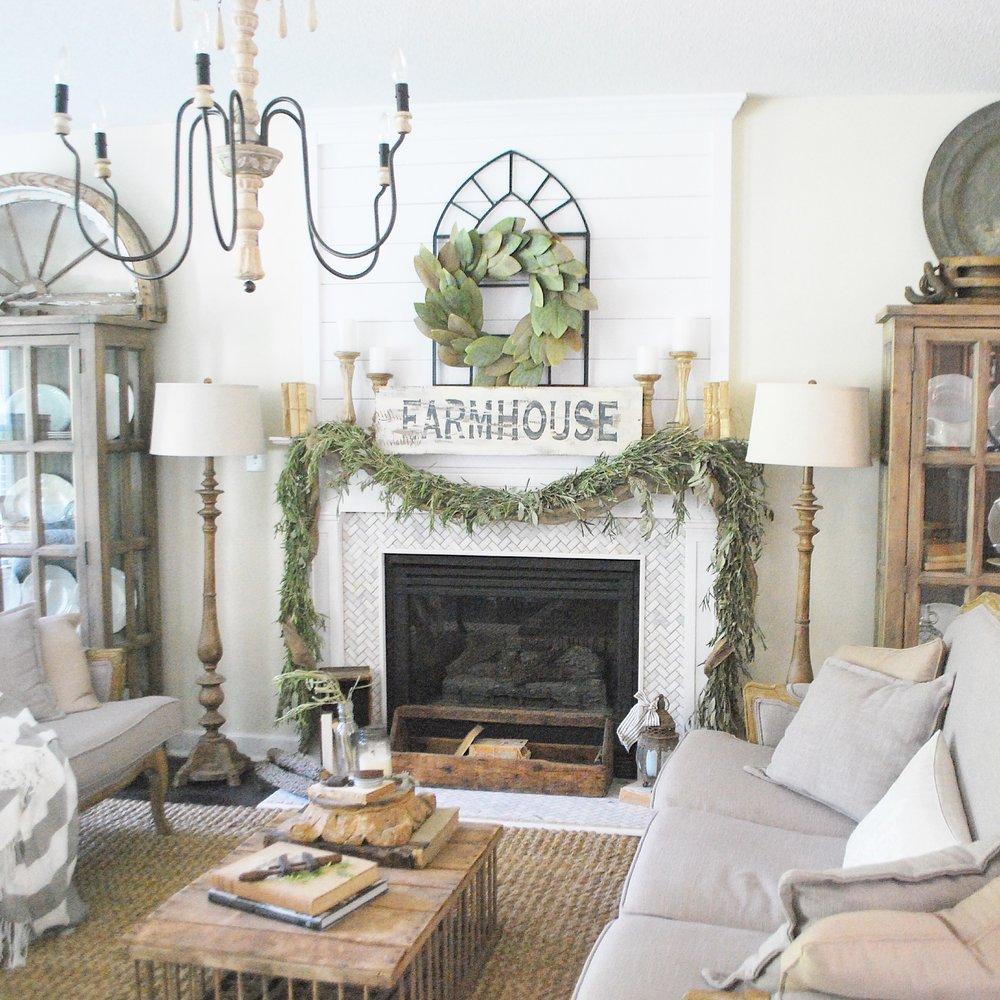 10 gorgeous farmhouse living rooms - Farmhouse Living Room Decorating
