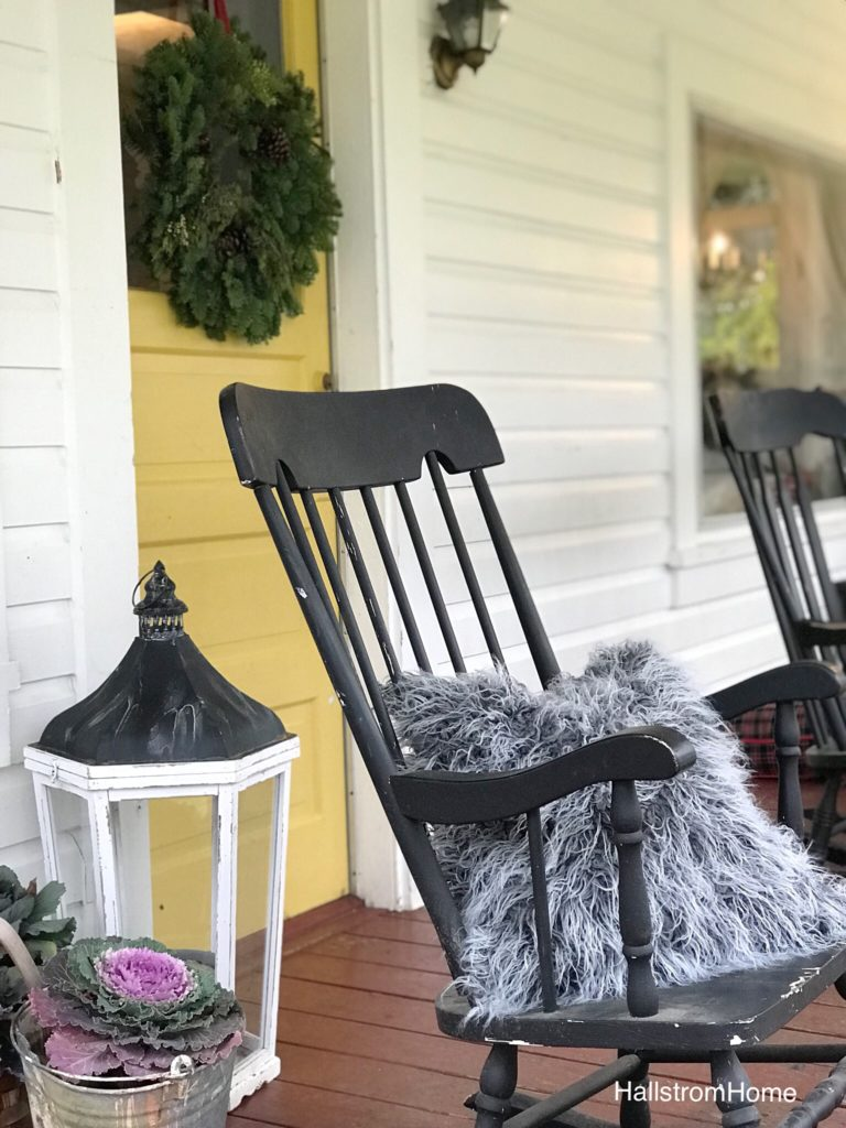 """Our Modern Farmhouse Christmas Porch"
