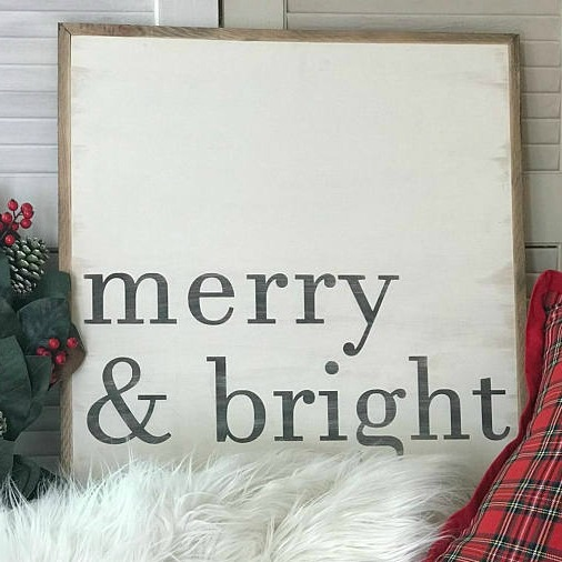 20 Favorite Farmhouse Christmas Signs
