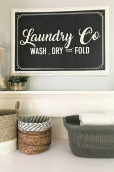 How to Organize Your Laundry Room For The New Year|new update|laundry room update|laundry room makeover|organize laundry room|farmhouse laundry room|farmhouse home decor|shabby chic farmhouse|modern farmhouse|modern laundry room|hallstrom Home
