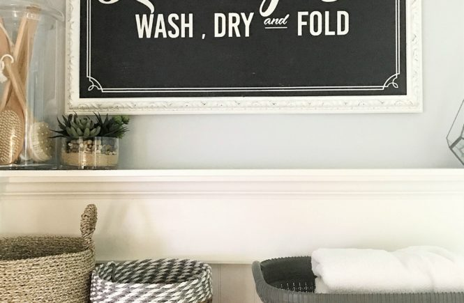 Organizing Your Laundry
