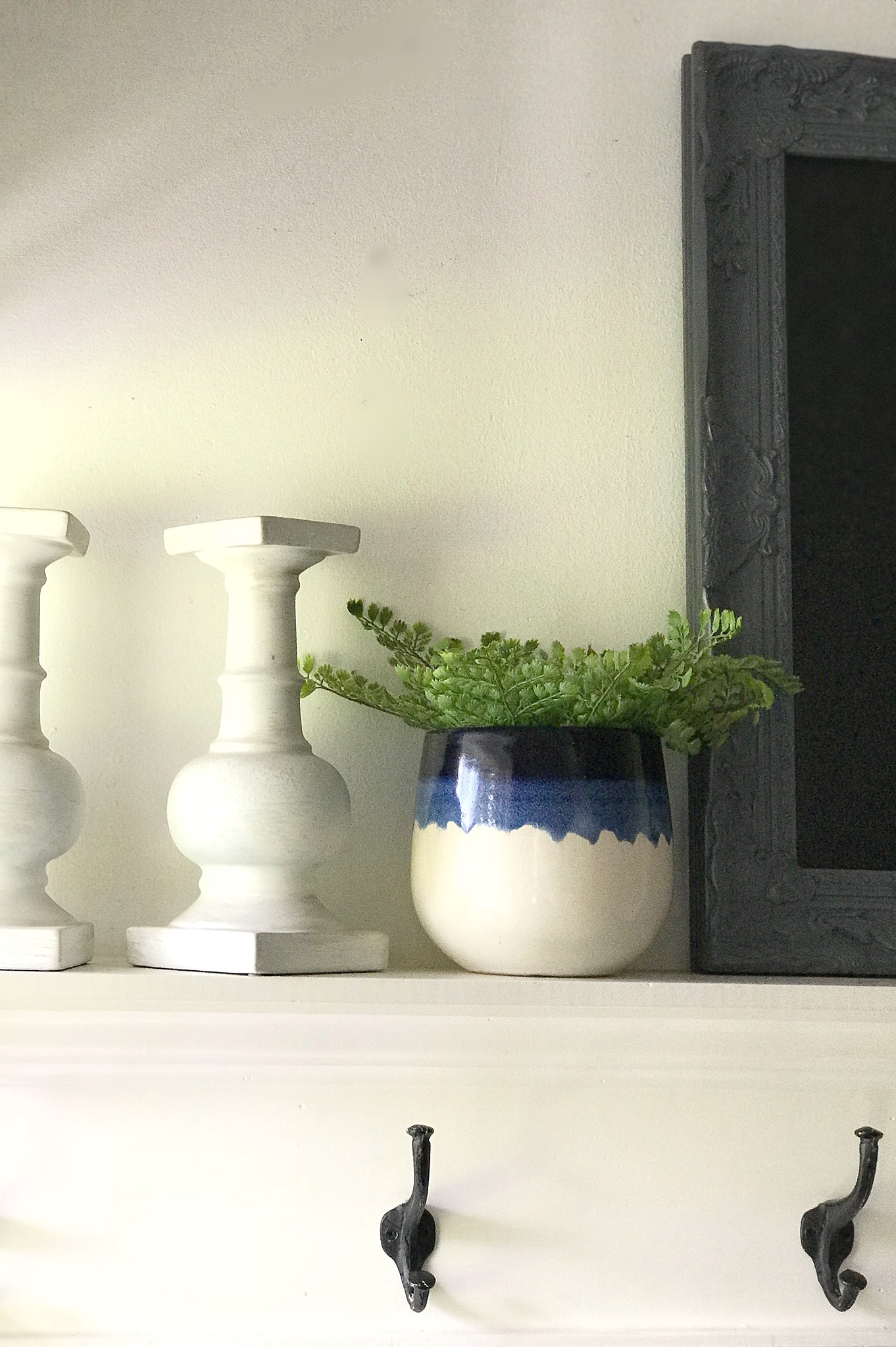 How I Updated the Mudroom for the New Year