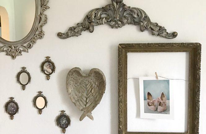 Shabby Chic Farmhouse Gallery Wall