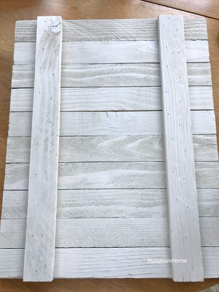 white wood boards