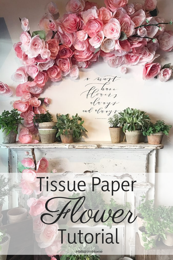 diy tissue paper flowers tutorial  u2013 hallstrom home