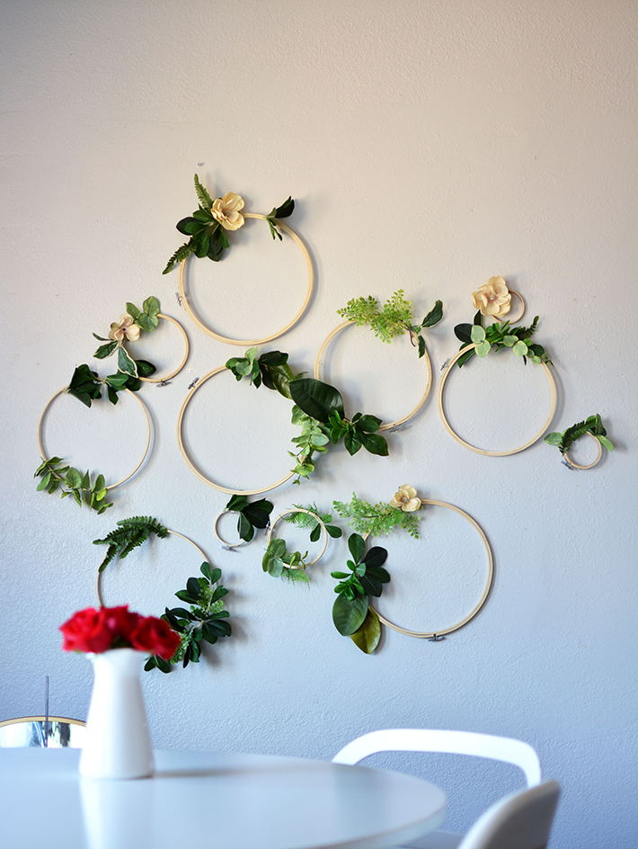 Making Hoop Wreaths for Spring|floral hoop wreath|hoop wreath|how to make hoop wreath|diy hula hoop wreath|wedding hoop wreath|spring hoop wreath|wedding hoop wreath|embroidery hoop wreath|spring crafts|kids crafts|spring diy|spring cleaning|spring makeover|Hallstromhome