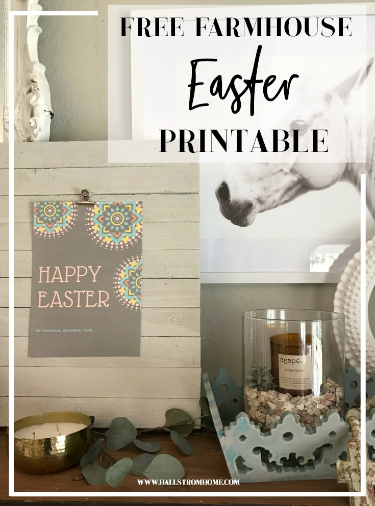 Free Easter Wall Hanging Printable Pdf Hallstrom Home