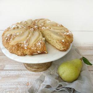 scones on white platter