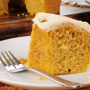 Pumpkin Spice Cake with Cream Cheese Frosting / Pumpkin Spice Cake Easy / Pumpkin and Spice Cake Recipe / How To Make Fall Cake / HallstromHome