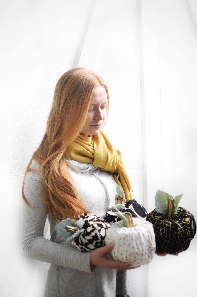 |Easy Fabric Pumpkins No Sew Tutorial|Toilet Paper Pumpkins|Fall Crafts|5 Minute Crafts|Kids Crafts|Fabric Pumpkins|DIY Pumpkins| HallstromHome