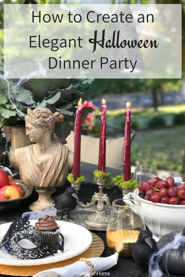 Halloween Dinner Party Ideas.Our Elegant Farmhouse Halloween Tips Hallstrom Home