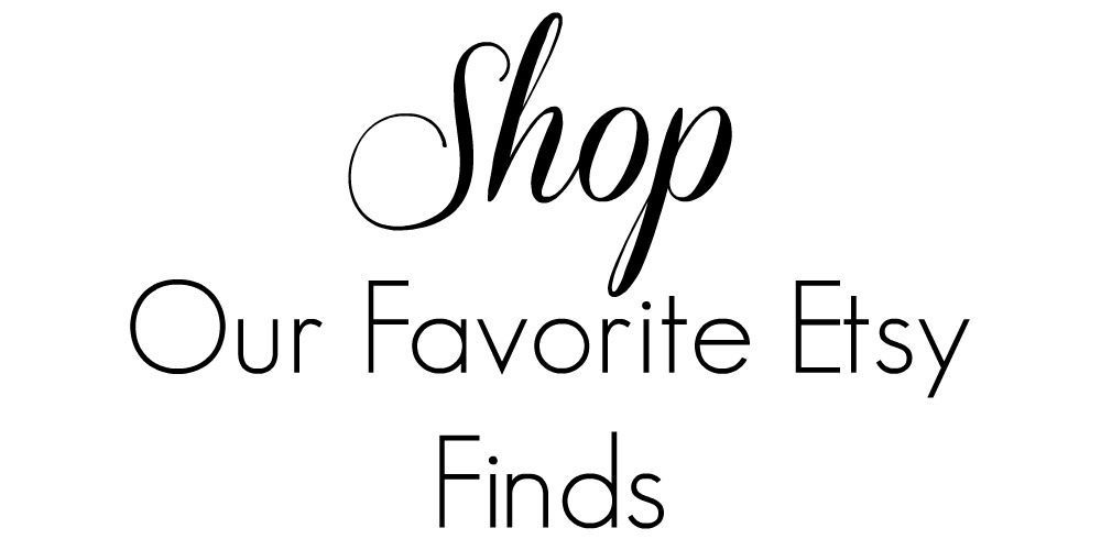 Shop etsy finds