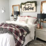 Cozy Farmhouse Christmas Bedroom with Linen Bedding|christmas decorations|christmas bedroom|christmas bedroom ideas|christmas bedroom lights|christmas bedding|linen bedding|christmas linen bedding|how to decorate your bedroom for christmas|christmas room decor|farmhouse christmas|farmhouse christmas bedroom|christmas decor|hallstromhome