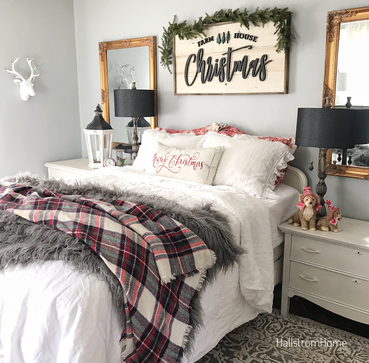 Bedroom Decor Supplies: Easy Holiday Bedroom Tips