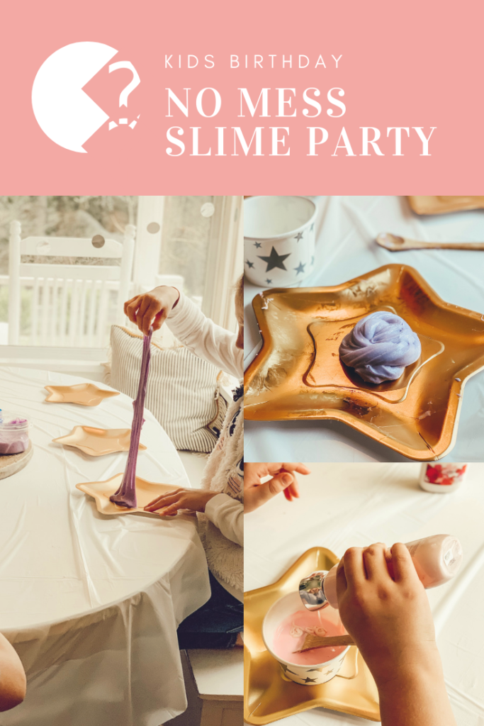 No Mess Kids Party - Easy Slime Recipe|slime party|slime birthday party|no mess slime|slime party supplies|new years kids party|slime supplies|slime party decorations|new years eve party|fun kids party|easy kids party|mess free kids party|easy slime recipe|slime recipe|hallstromhome
