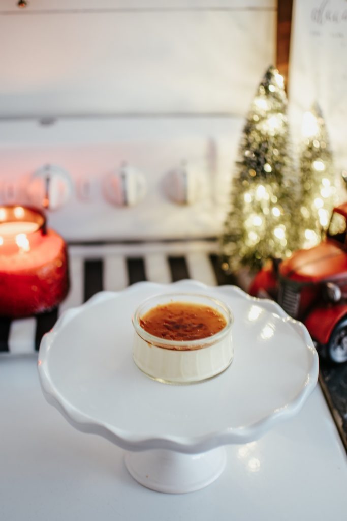 Easy Creme Brûlée for the Holidays #Christmascremebrulee#cremebrulee#cremebruleerecipe#holidayrecipes#holidaydessert#Christmasdessert#holidaycremebrulee#recipeforkids#recipekidscanmake#bestrecipes#hallstromhome