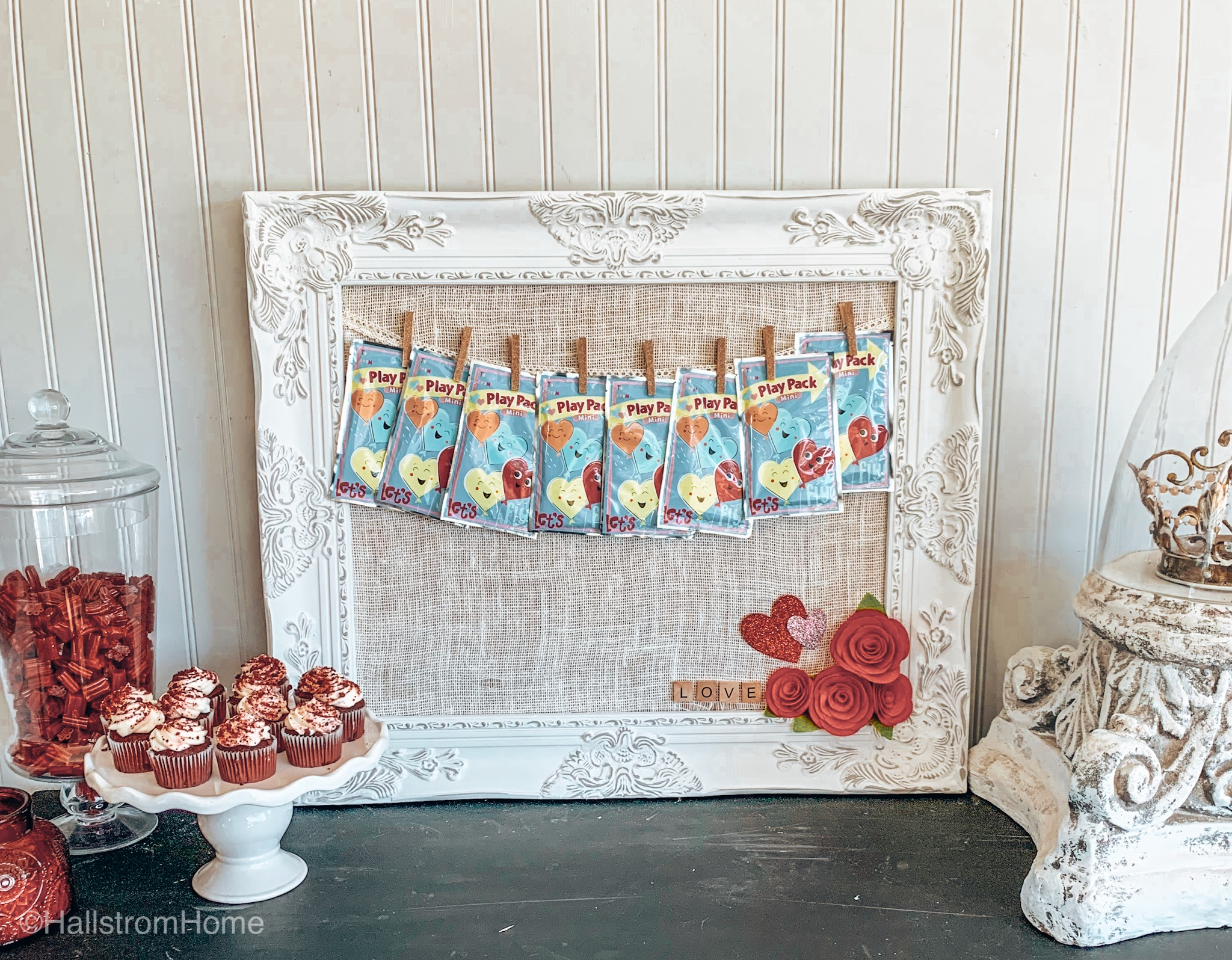 Fabric Covered Bulletin Board-Fast & Easy DIY