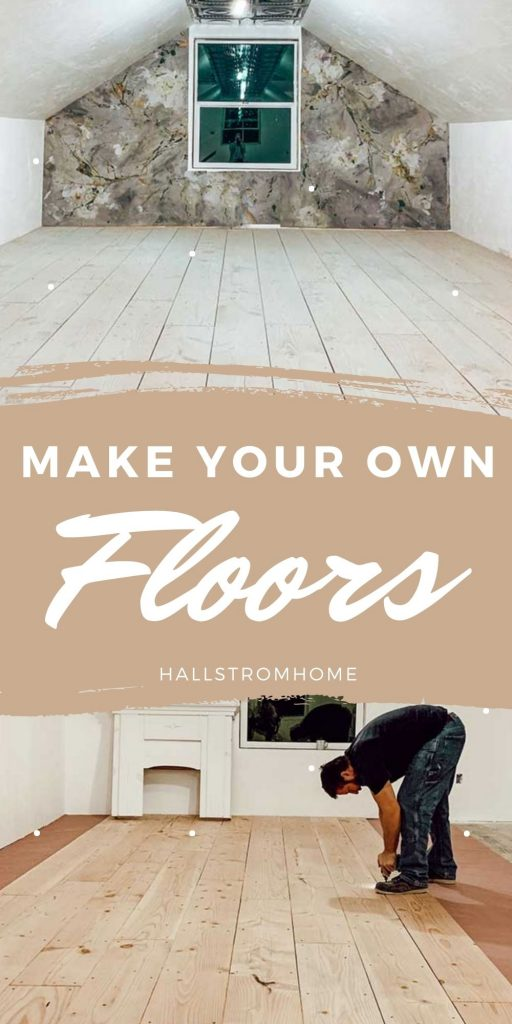 """Make Your Own Plank Flooring-Using 1 x 12"""" Lumber make your own wood flooring homemade wood flooring hard wood flooring how to plain wood hardwood flooring office design custom office space how to put in flooring how to put in wood flooring design your office space hallstrom home"""