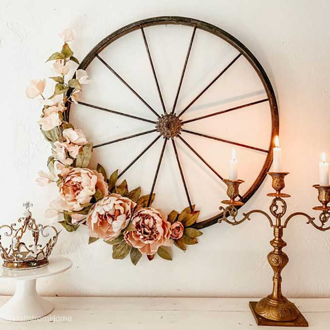 Spring Wreath Ideas