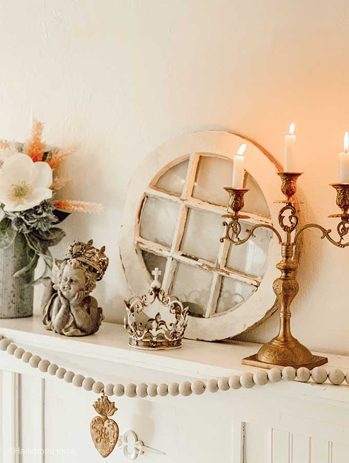 French Country Mantel Decor Hallstrom Home