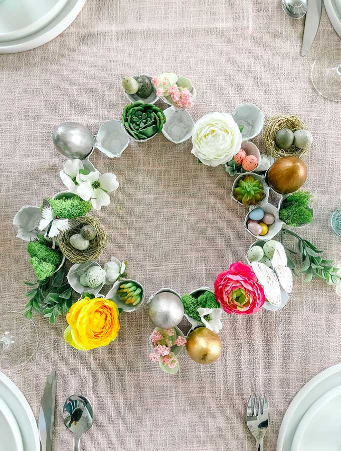 Easy Easter Egg Wreath/How to Make|Grapevine wreath|spring wreath|grapevine wreath for spring|easter wreath|wreath diy|easy wreath diy|wreath tutorial|spring diy|easter egg wreath|egg wreath|kids diy|front door wreath|farmhouse wreath|wall decor|farmhouse decor|Hallstrom Home
