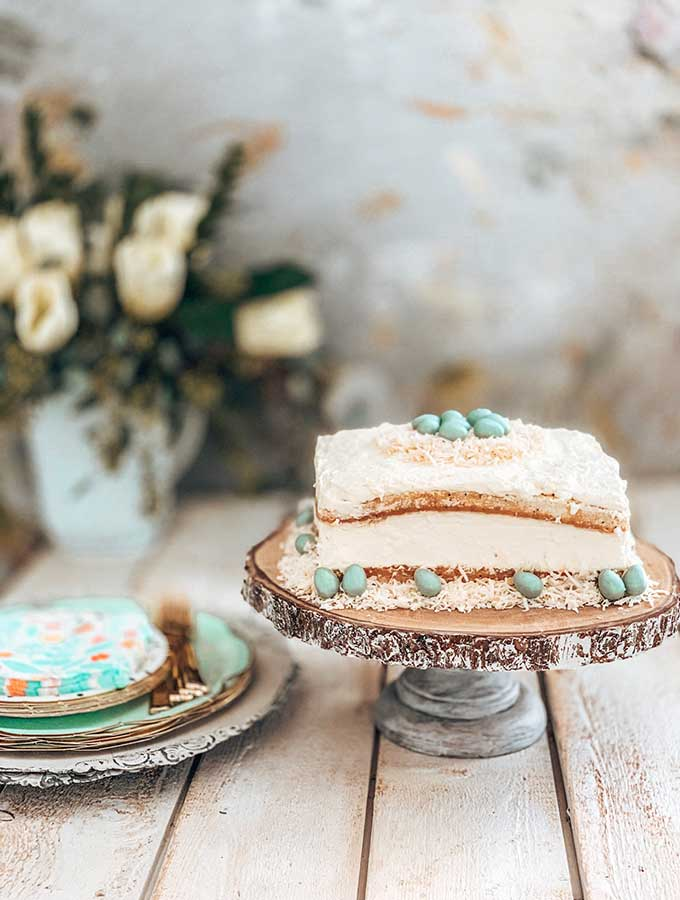 Spring Tablescape With Easy Desserts Hallstrom Home