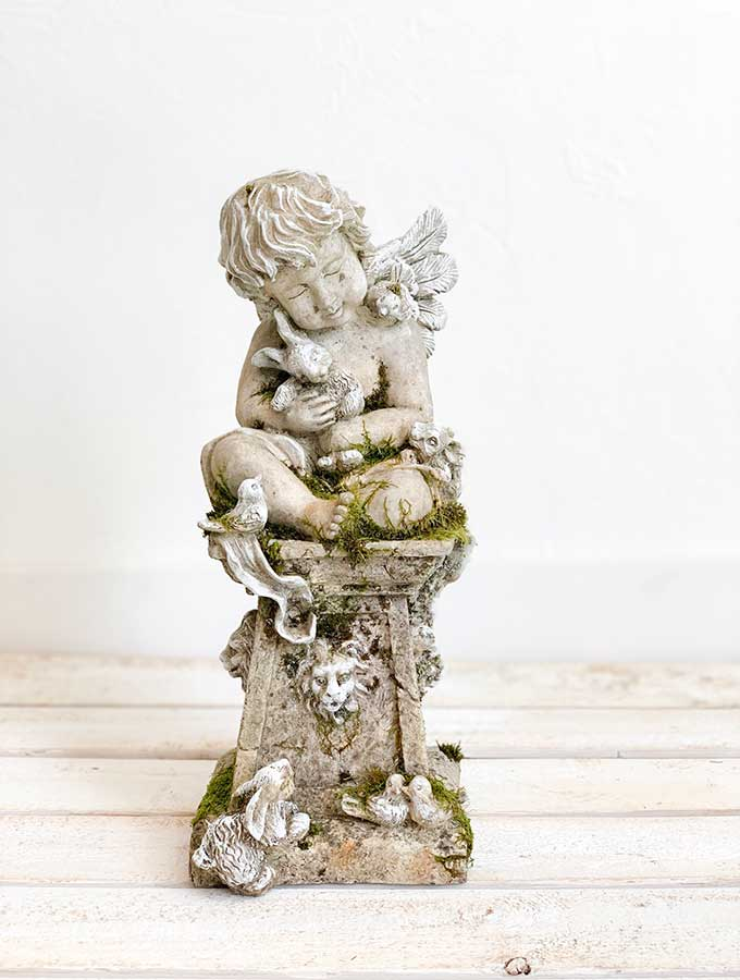 Angel Statues-French Nordic Style|Shabby Chic Decor|Chalk Painting Diy|Remembrance Gift|Garden Decor|French Home Decor|Painting Tips|French Style Home