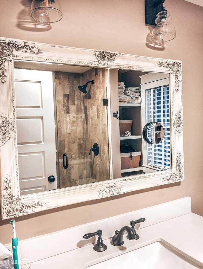 Beautifully Framed Bathroom Mirrors, Framed Wall Mirrors For Bathrooms