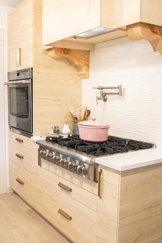 Farmhouse Kitchen Remodel with Pot Filler