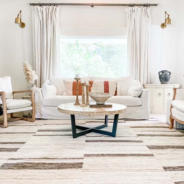 Picking a Farmhouse Rug |farmhouse style|farmhouse rug|farmhouse living|antique farmhouse rug|best rugs|trending rugs|oriental rug|farmhouse oriental rugs|farmhouse living room|living room rug|wool rug|how to style rug|style wool rug|HallstromHome