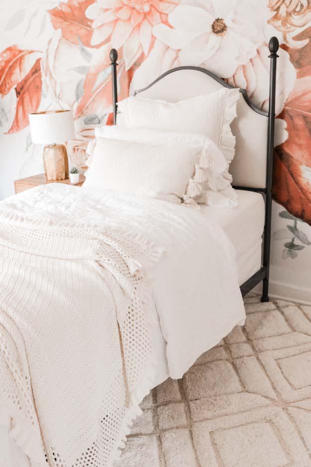 Boho Teen Girl Bedroom Design – Hallstrom Home