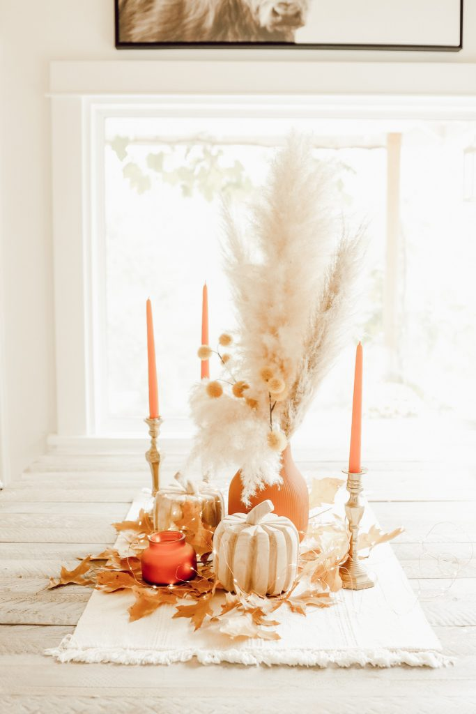 Fall Kitchen Decor on a Budget  fall on a budget decor budget fall kitchen tour fall home tour fall decor budget decorating budget friendly decor farmhouse style fall farmhouse fall budget tips Hallstrom Home