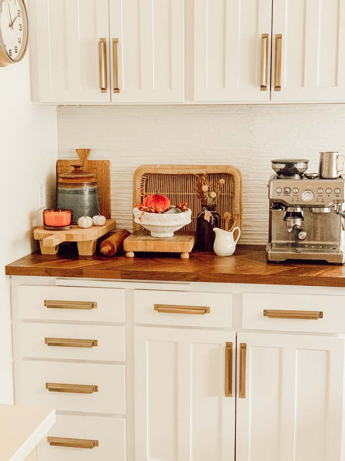 Fall Kitchen Decor On A Budget Hallstrom Home