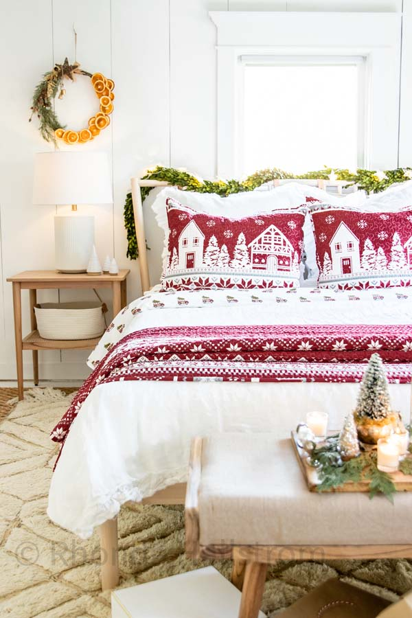Hygge Scandinavian Christmas Bedroom