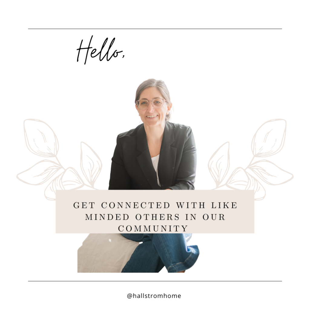 Facebook community group |Hallstrom Home