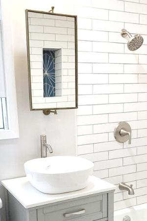 mirror |swivel mirror|gold mirror|farmhouse mirror |hallstromhome
