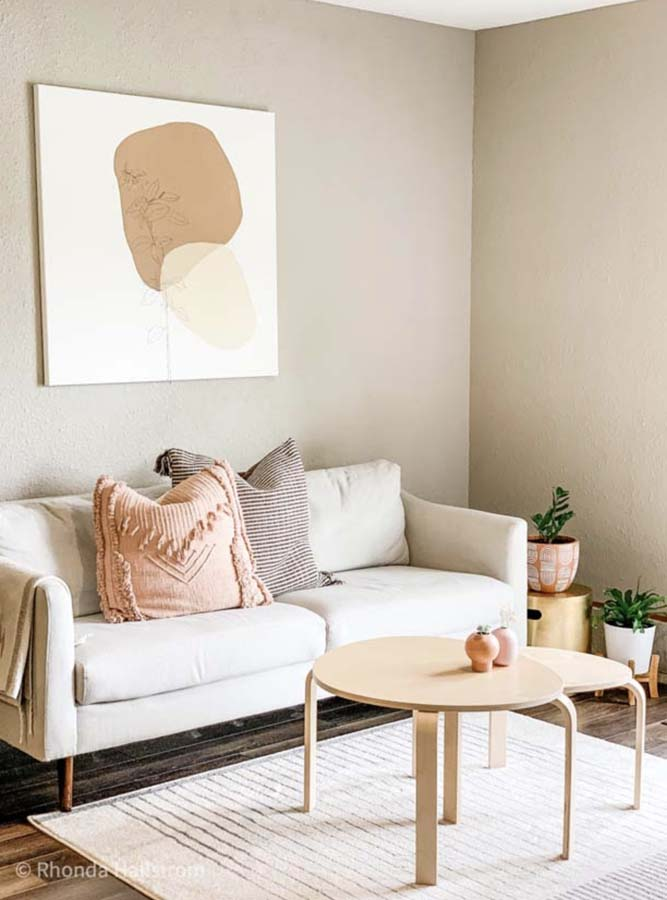 How To Make Minimalist Modern Wall Art