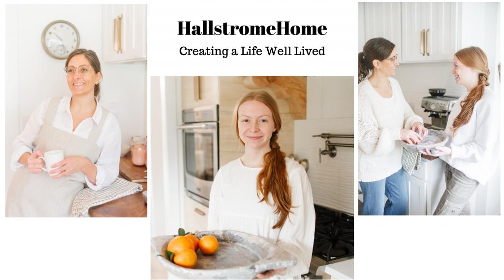 Hallstrom Home Creating A Life Well Lived,DIY Tutorials, Recipes, Crafts, Lifestyle, Modern Farmhouse Decor, Luxury Bedding, Skin Care, Family Life