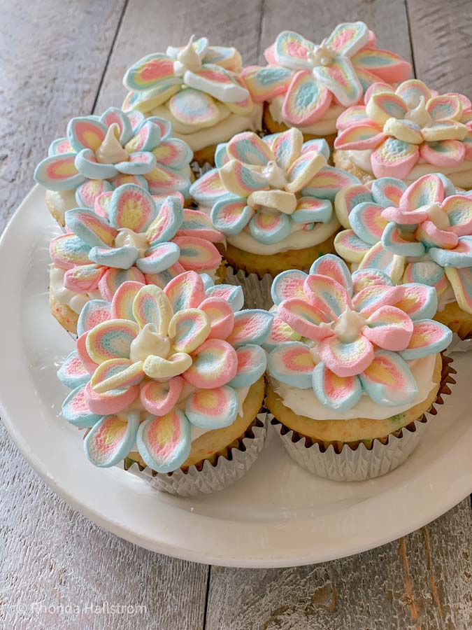 Ideas For Cupcake Decorating / How To Cupcake Decorating / Cupcake Ingredients / Cupcake How To Make / Cupcake Decorating Easy Ideas / Cupcake Decorating With Tips / Cupcake Decorating How To / HallstromHome