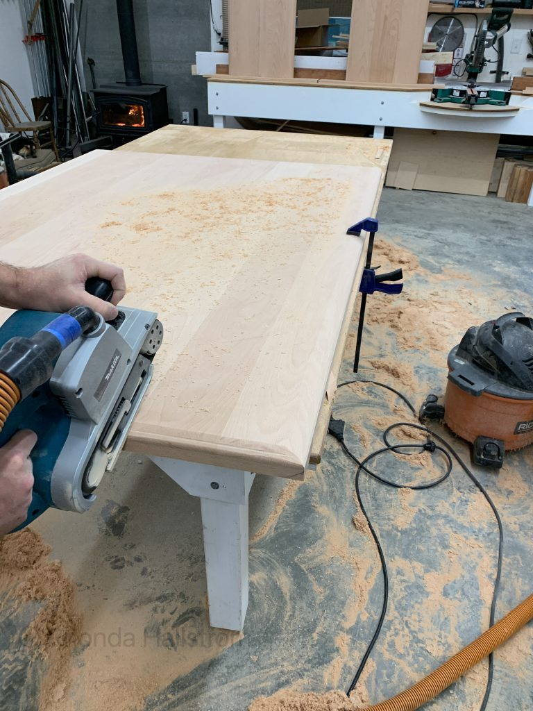 How To Make A Wood Table / Homemade Table / DIY Wood Table / How To Make Wood Table / Wood Table Tutorial / Hand Crafted Table / HallstromHome