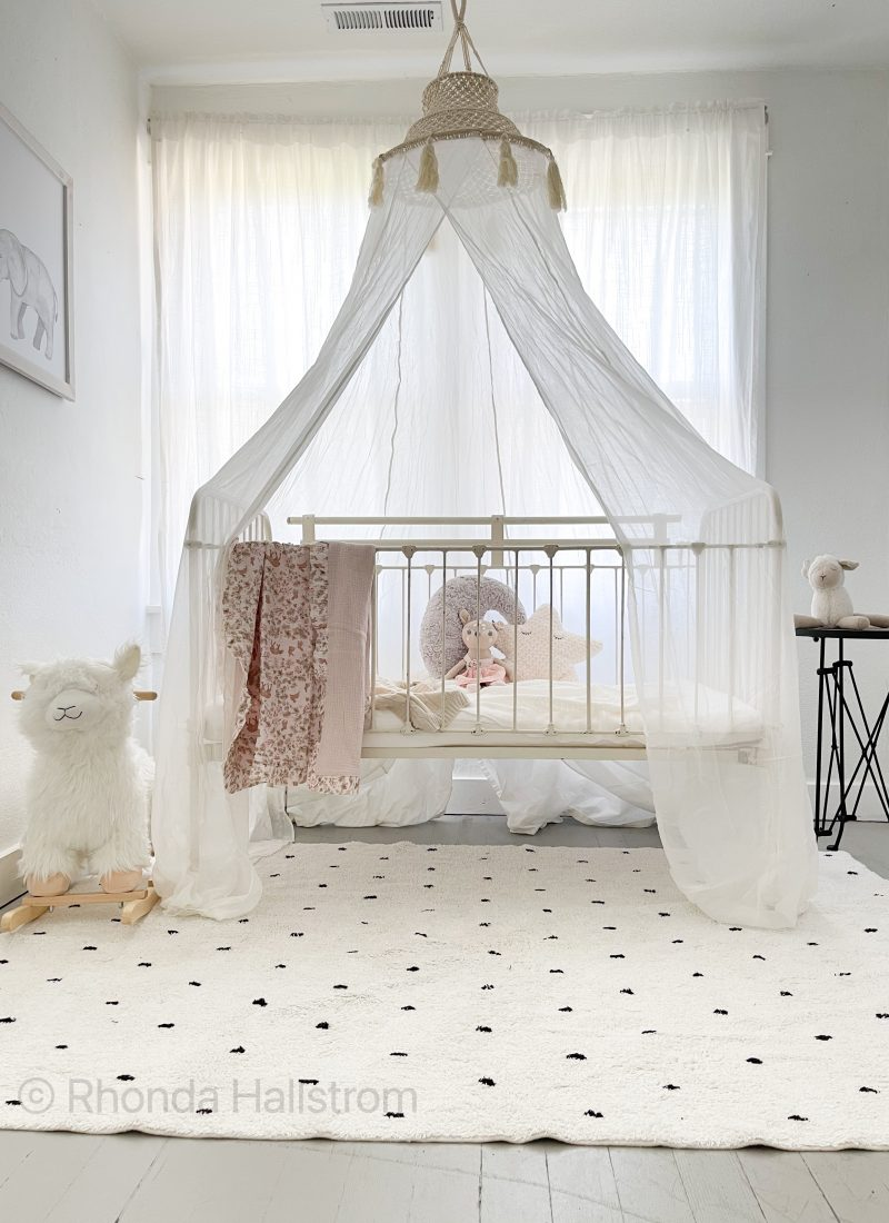 Girls Nursery Idea