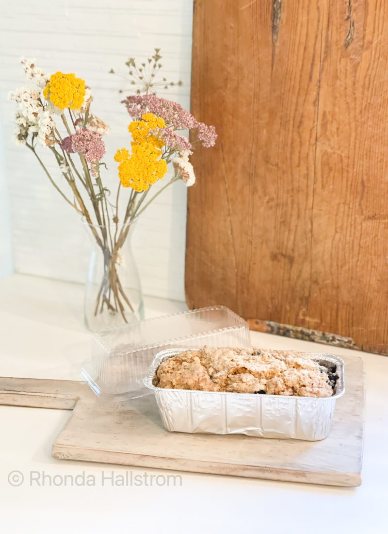 Recipe For Blueberry Zucchini Bread / Blueberry Zucchini Bread / Zucchini Bread With Blueberries / Zucchini Bread Recipe / Dessert With Blueberries / Blueberry Recipes / Bread Recipes / Blueberry Zucchini / HallstromHome