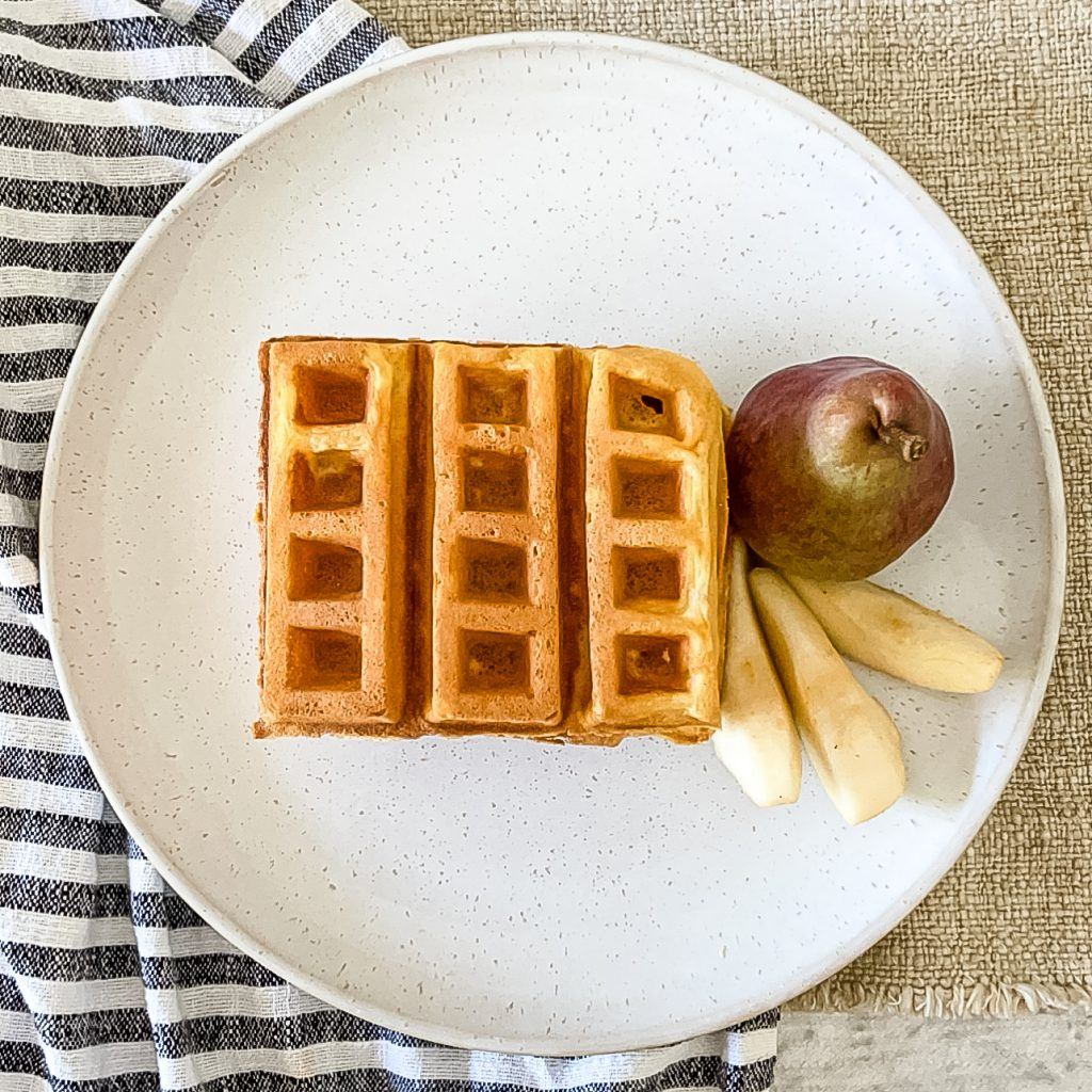 Recipe For Homemade Waffles / Homemade Waffle Batter / Homemade Waffles Easy / Best Recipe For Homemade Waffles / Homemade Waffles With Buttermilk / HallstromHome