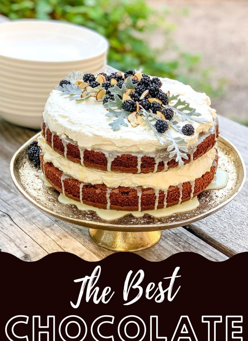 Best Chocolate Cake Decorating And Recipe