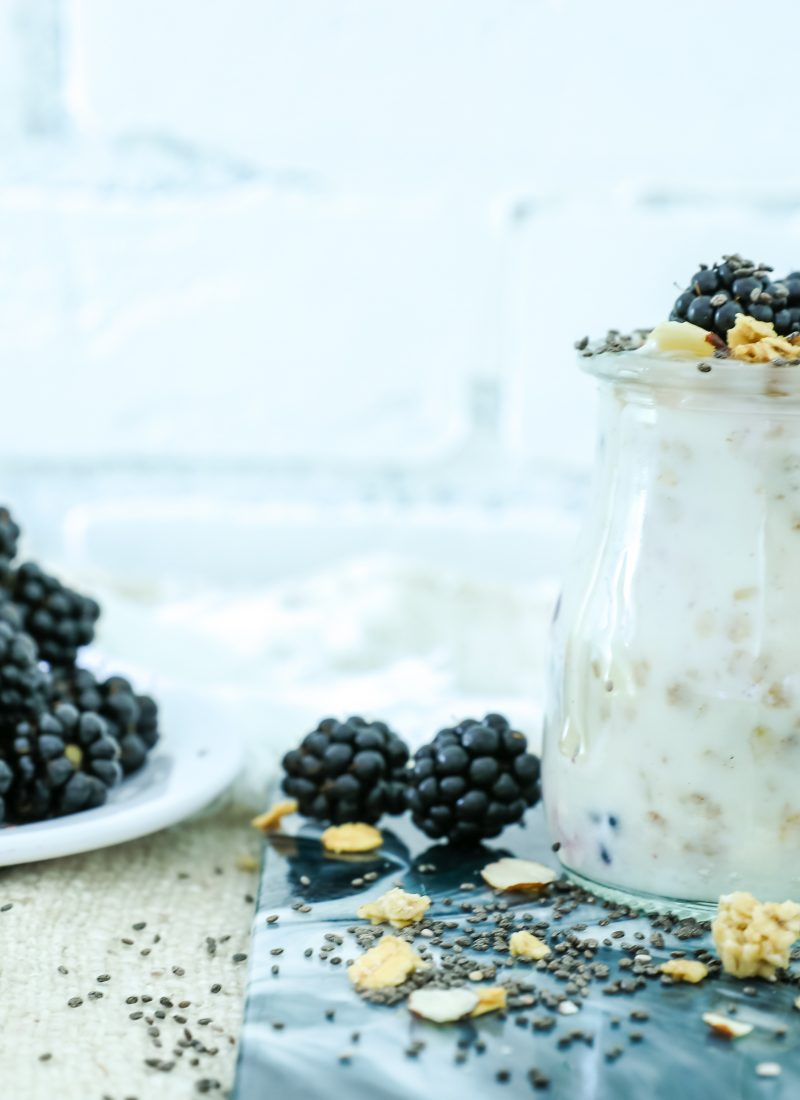 Yogurt Breakfast In A Jar