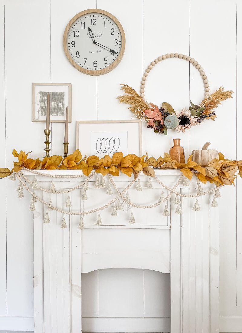 Fall Wreath How To Make