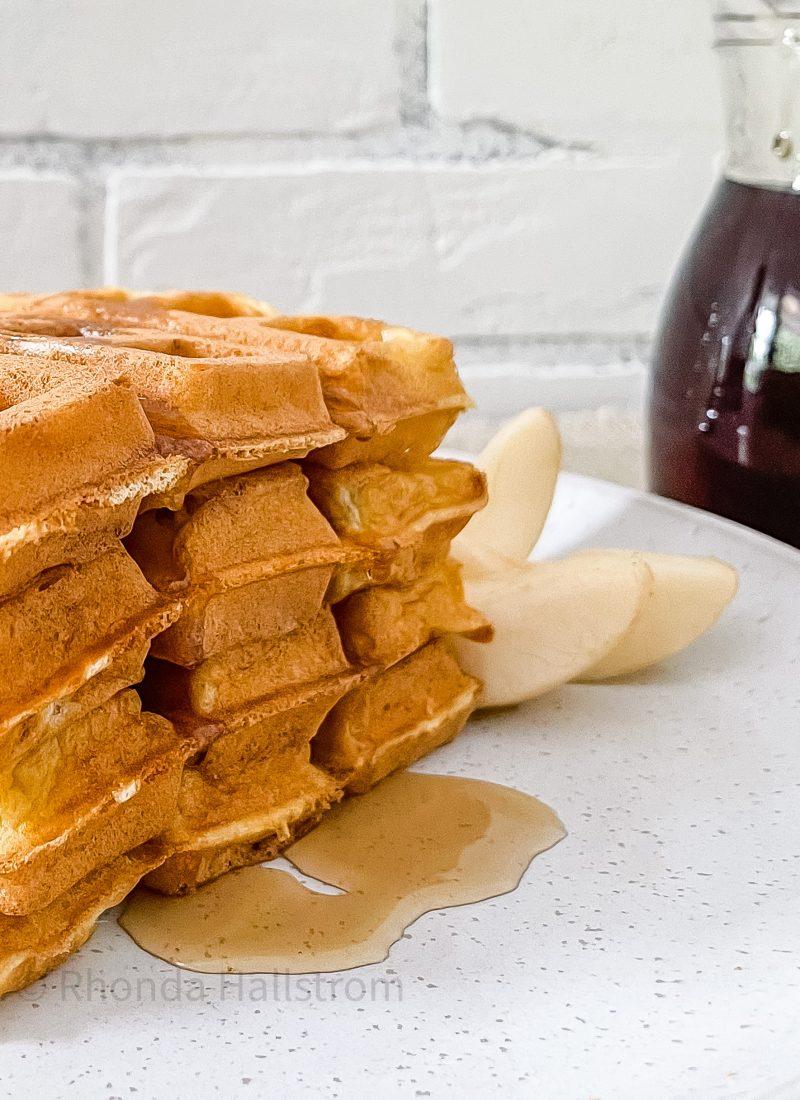 Recipe For Homemade Waffles
