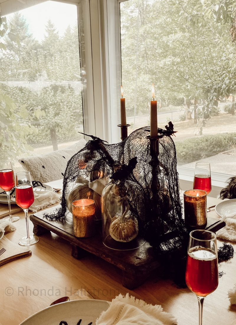 Ideas For Halloween Table Decorations